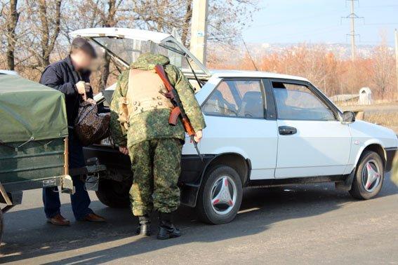 Краматорская полиция рассказала о работе блокпоста (фото) - фото 1