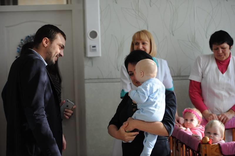День святого Николая в днепродзержинском доме ребенка, фото-5