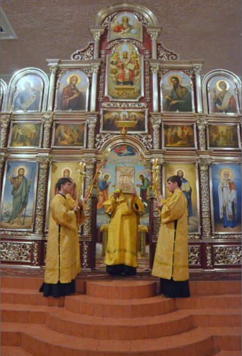 В Кривой Рог в Свято-Никольский храм прибыла великая христианская святыня (ФОТО) (фото) - фото 1