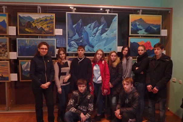 Студенты ЕТЭМ посетили выставку русского художника Николая Рериха, фото-4