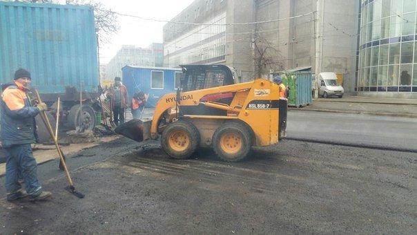 В Днепропетровске полным ходом идет ремонт улицы Московской (ФОТО) (фото) - фото 1