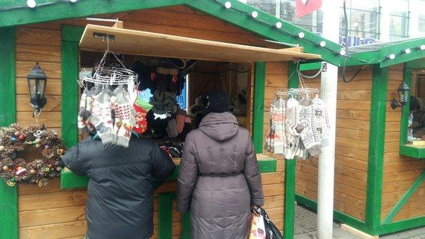Рождественский городок на Европейской площади в Днепропетровске принимает первых посетителей (ФОТО), фото-2