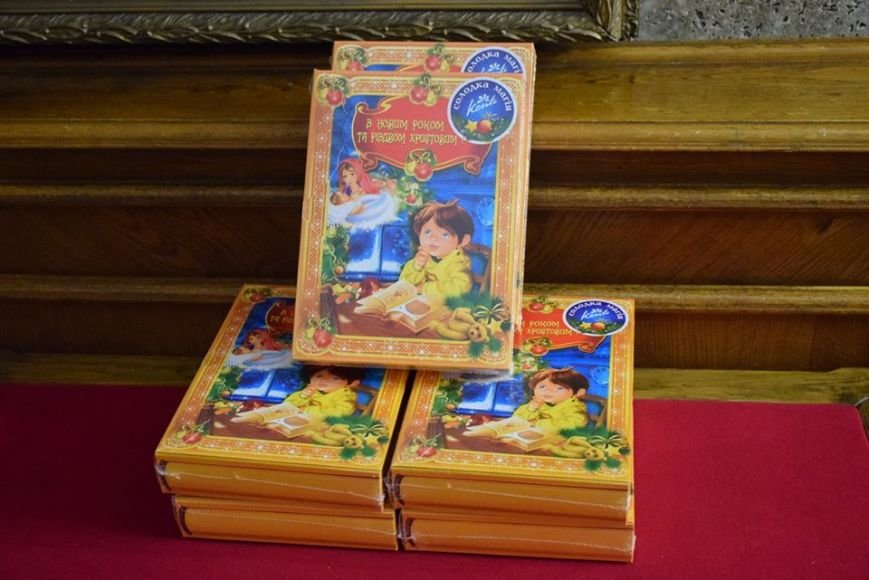 Святой Николай поздравил детей бойцов АТО и переселенцев на Николаевщине (ФОТО), фото-2