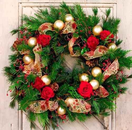 27 декабря состоится мастер-класс по созданию новогоднего декора и рождественских венков (фото) - фото 2