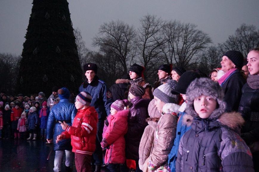 В День Святого Николая в Кривом Роге засияла огнями  главная елка города (ФОТО) (фото) - фото 1