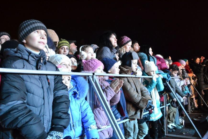 В Днепродзержинске открыли центральную новогоднюю ёлку, фото-27
