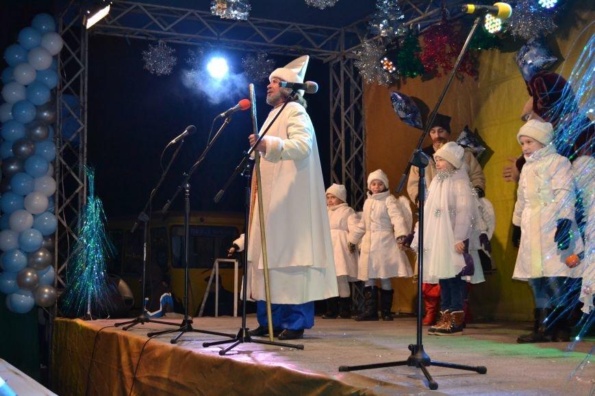 В Днепродзержинске открыли центральную новогоднюю ёлку, фото-18
