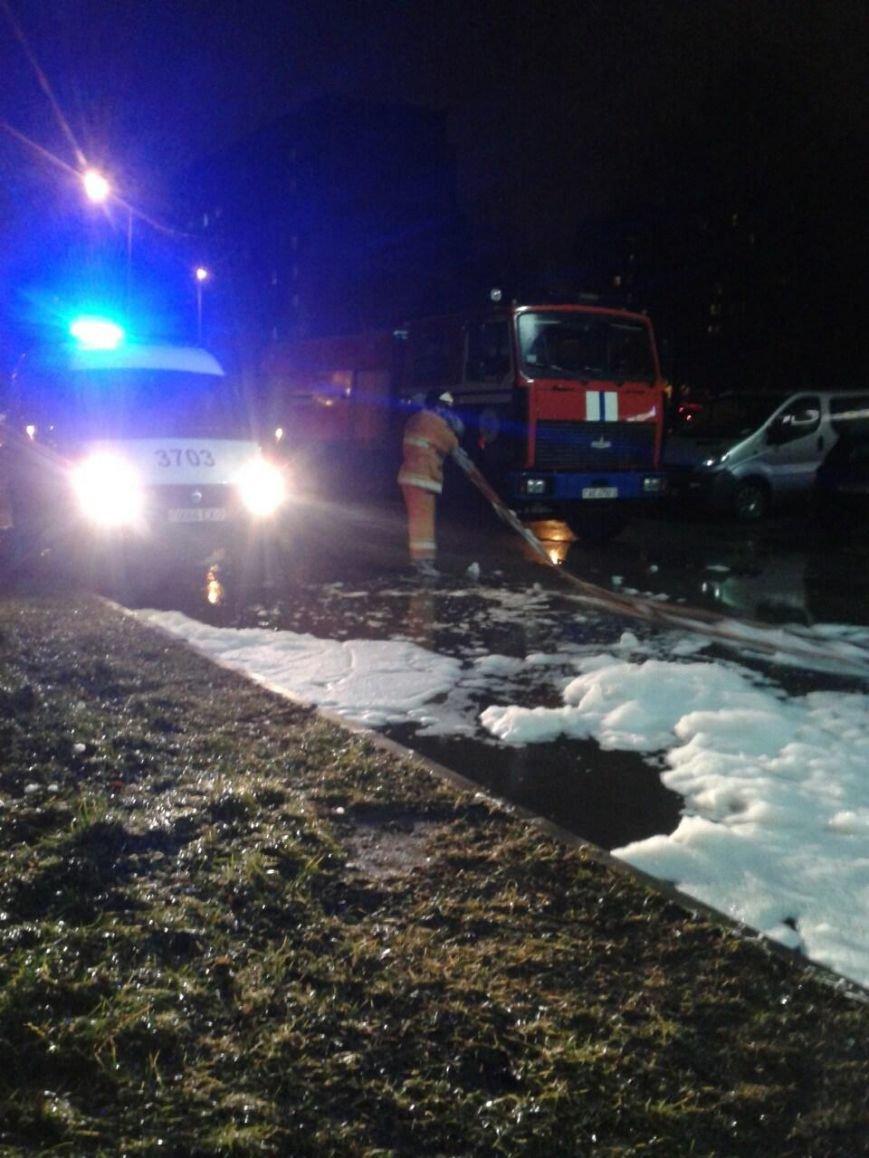 В Новополоцке сгорела машина (фото) - фото 4