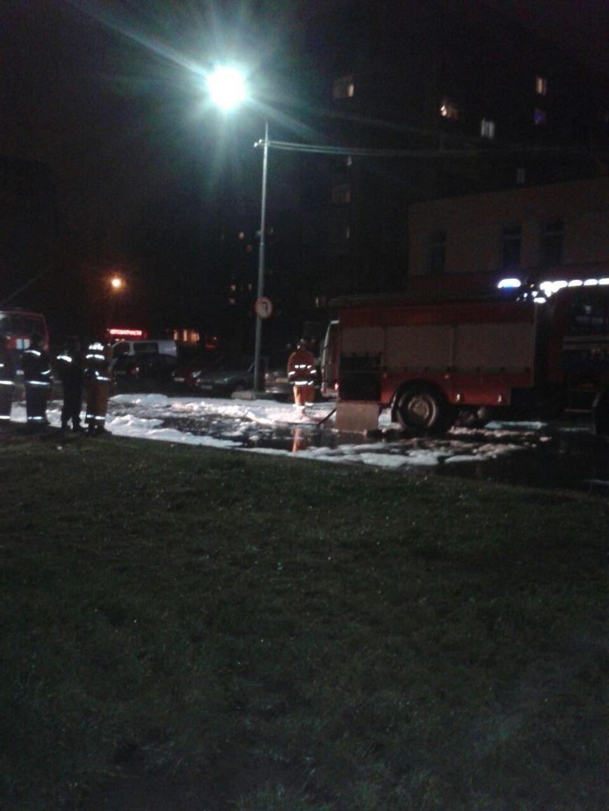 В Новополоцке сгорела машина (фото) - фото 1