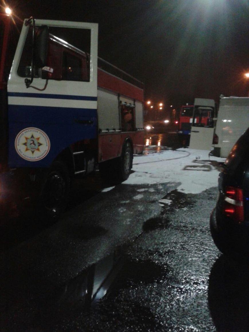 В Новополоцке сгорела машина (фото) - фото 2