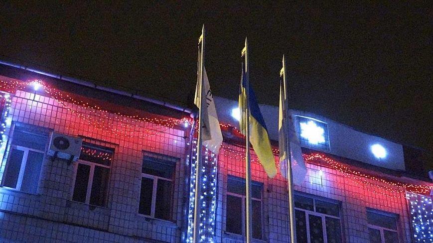 В Мариуполе комбинат им. Ильича сияет новогодней иллюминацией (ФОТО), фото-14