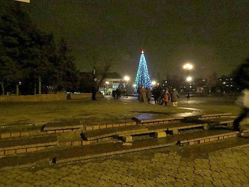 В Мариуполе открылись районные елки (ФОТО), фото-6