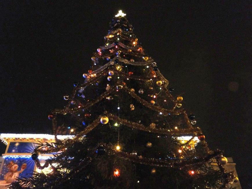 У Хмельницькому в День Святого Миколая запалили головну ялинку міста (Фото) (фото) - фото 1
