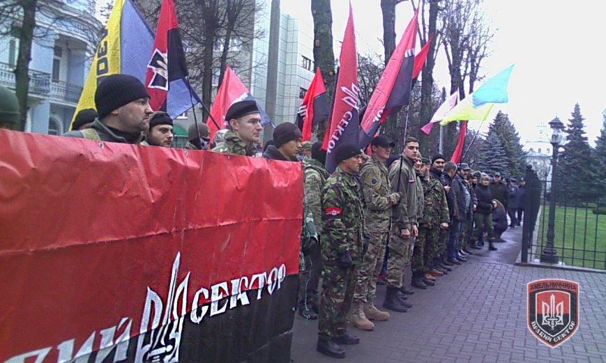 Всеукраїнський марш «Волю в'язням режиму!» пройшов у Хмельницькому (Фото) (фото) - фото 1
