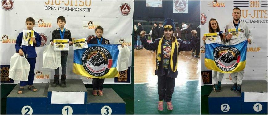 Хмельницькі спортсмени відзначилися на Чемпіонаті України з бразильського джиу-джитсу (Фото) (фото) - фото 1