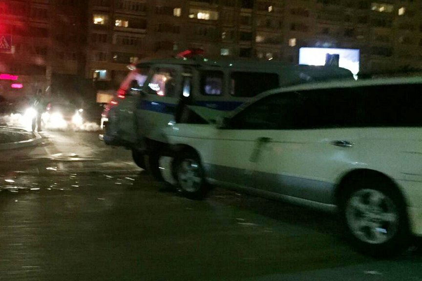 Авария на улице Казахстан