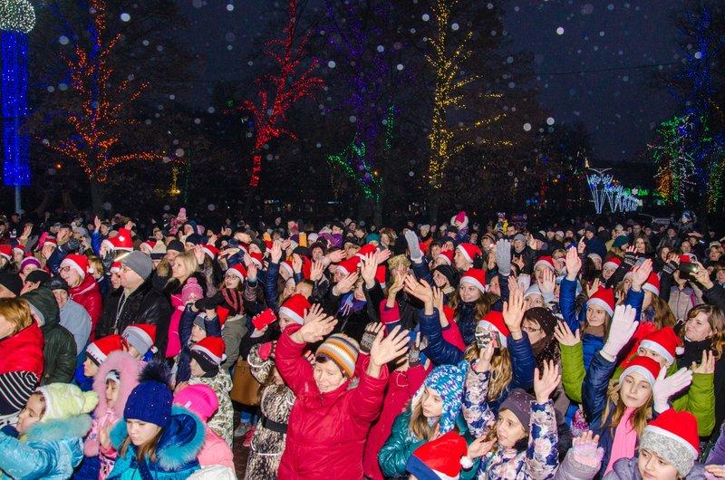 На Днепропетровщине открылся сказочный новогодний городок (ФОТО) (фото) - фото 1