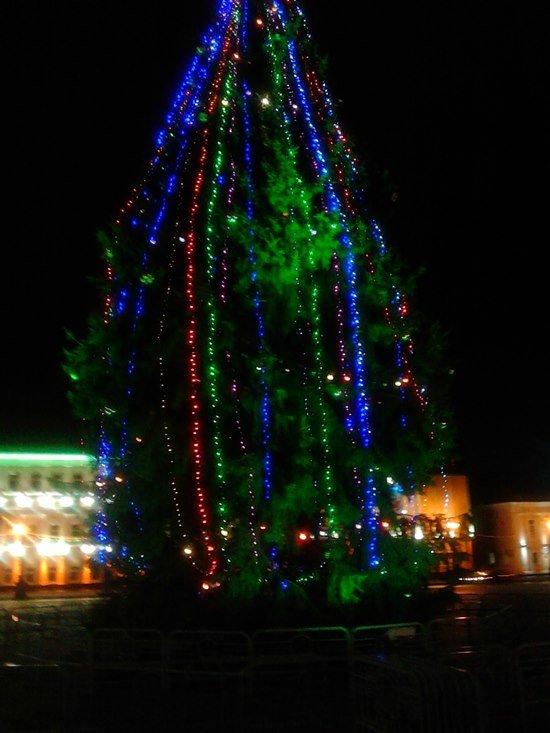 Как Полоцк готовится к Новому году: огни ночного города (фото) - фото 3