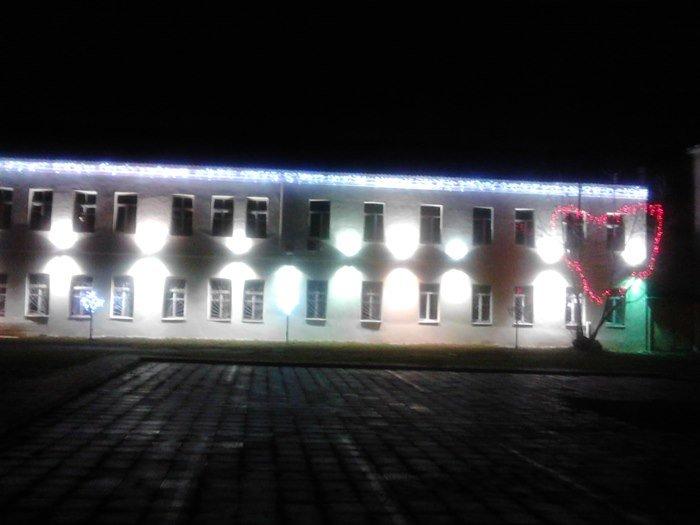 Как Полоцк готовится к Новому году: огни ночного города (фото) - фото 2