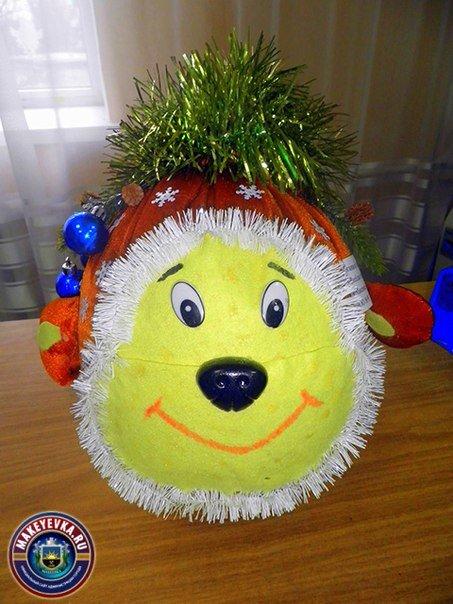 В Макеевке определили лучшую новогоднюю игрушку, сделанную руками дошколят (фото) - фото 1