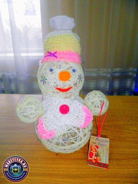 В Макеевке определили лучшую новогоднюю игрушку, сделанную руками дошколят (фото) - фото 2