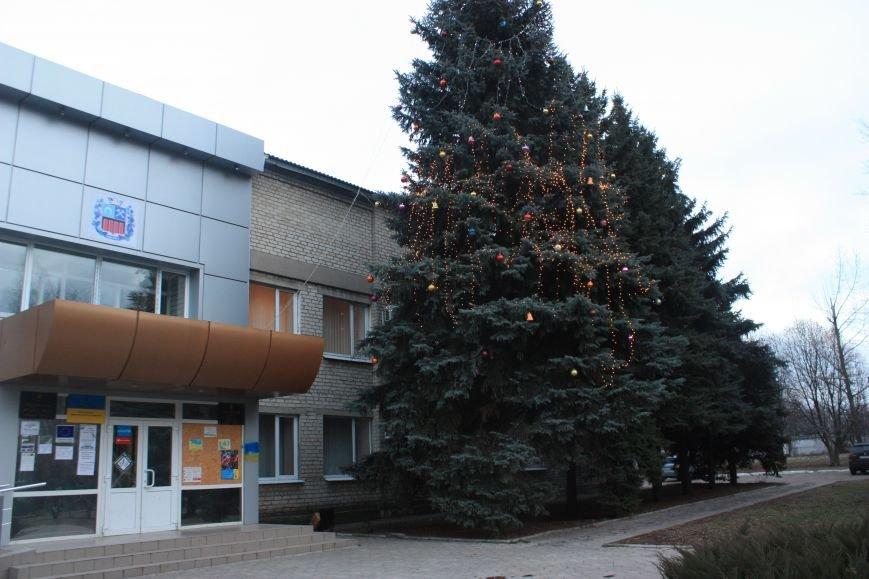 Фотофакт: в Авдеевке нарядили главную ёлку города (ФОТО), фото-1