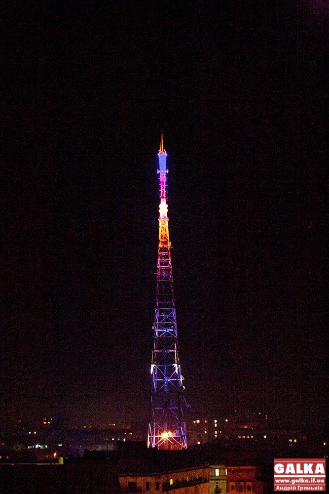 Франківська телевежа виднітиметься за декілька кілометрів поза містом (ФОТО), фото-1