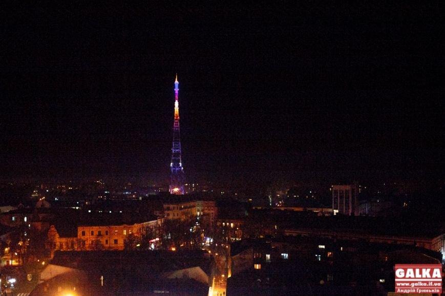 Франківська телевежа виднітиметься за декілька кілометрів поза містом (ФОТО), фото-2
