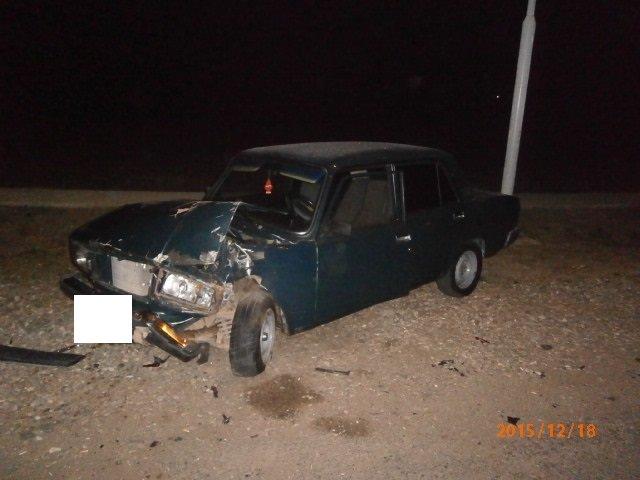 Место наибольшего повреждения авто. ВАЗ-21050.1812