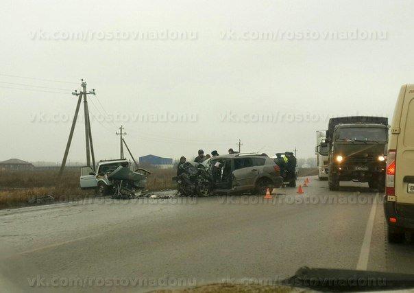 Два водителя погибли в лобовом столкновении машин под Ростовом (фото) - фото 1