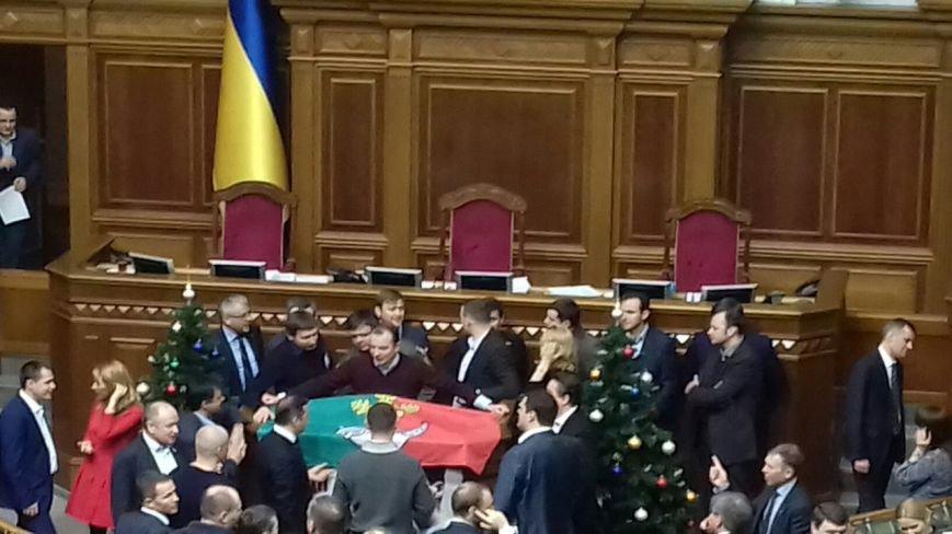 Владимир Гройсман объявил перерыв в заседании Верховной Рады, фото-4