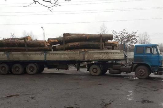 Ужгородська патрульна поліція зупинила вантажівку з