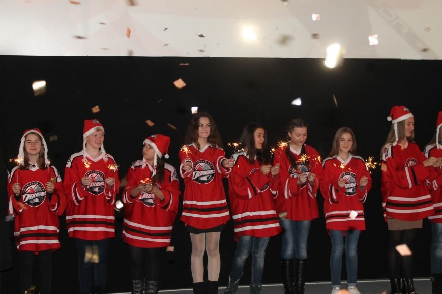 Хоккеисты «Донбасса» встретились со школьниками Артемовска-Бахмута, фото-1