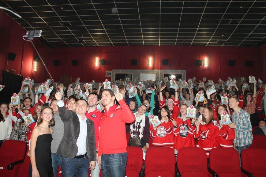Хоккеисты «Донбасса» встретились со школьниками Артемовска-Бахмута, фото-8