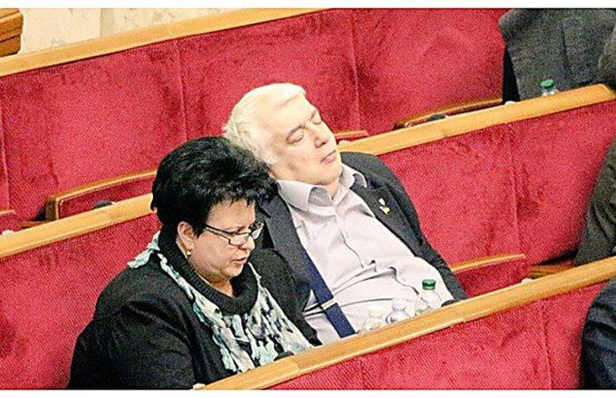 Харьковский депутат в очередной раз заснул на заседании в Верховной Раде (ФОТО) (фото) - фото 2
