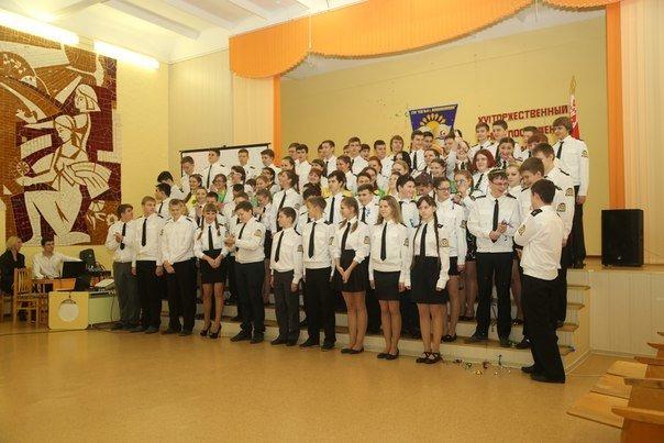 В кадетской семье СШ№4 прибыло или, Как давали торжественное обещание новоиспеченные новополоцкие кадеты (фото) - фото 13