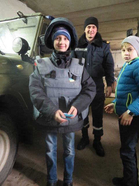 Ужгородські школярі навідалися до рятувальників (ФОТО), фото-2