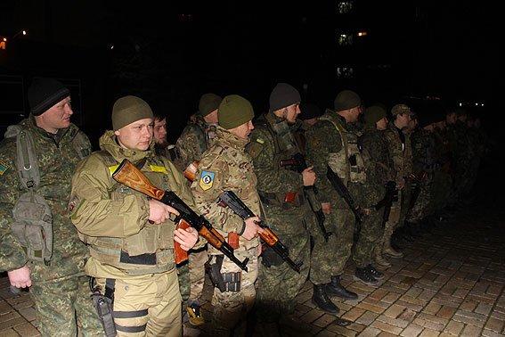 Спецбатальон «Чернигов» провел ротацию: на Донбасс уехала новая группа бойцов (фото) - фото 2