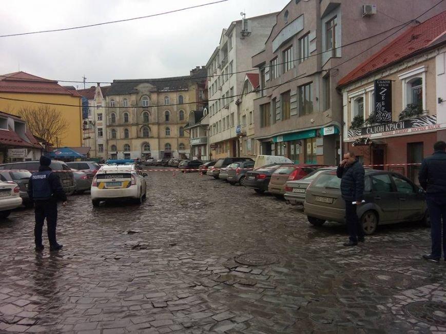 Вулиця Фединця в Ужгороді перекрита через