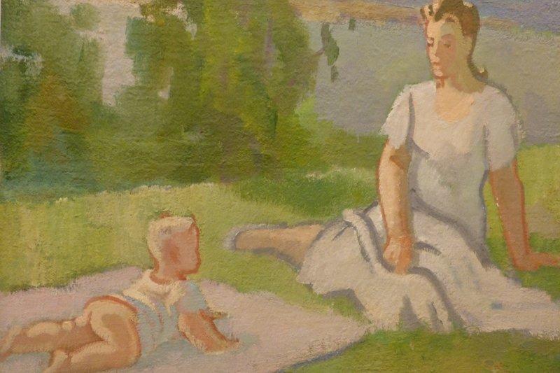 Разноплановые картины И. Ивановского ждут своего зрителя в Национальной галерее (фото) - фото 3