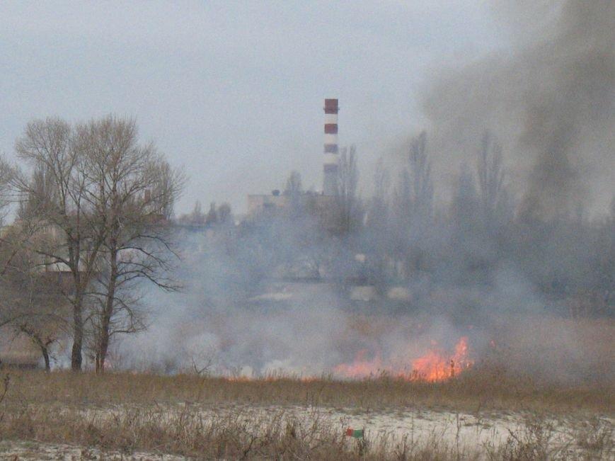 Сегодня на Раковке горела сухая трава на открытой территории (ФОТО), фото-5
