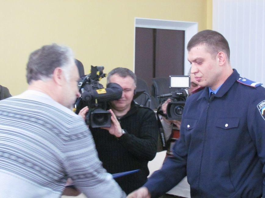 Жебривский пообещал полицейским в Мариуполе 15 миллионов гривен и подарил часы Аброськину (ФОТО+ВИДЕО), фото-2
