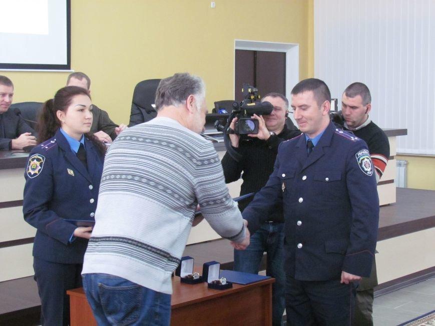 Жебривский пообещал полицейским в Мариуполе 15 миллионов гривен и подарил часы Аброськину (ФОТО+ВИДЕО), фото-3
