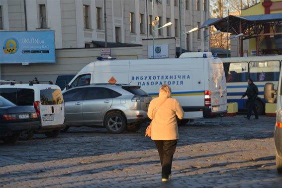 Через фальшиве повідомлення про замінування з головного вокзалу було евакуйовано 730 осіб (ФОТО) (фото) - фото 1