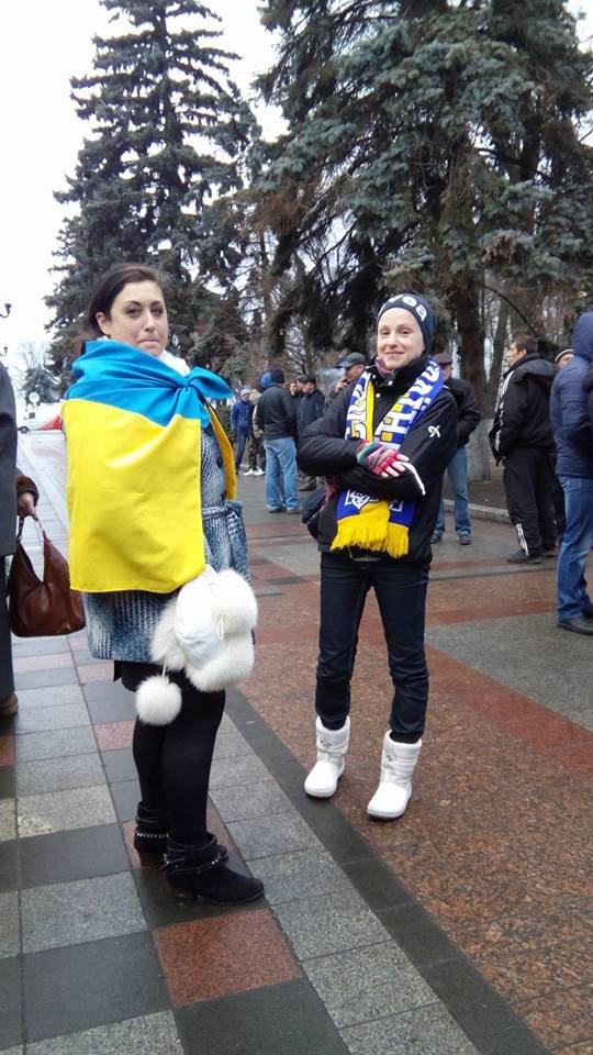 Криворожан под Верховной Радой поддерживали активисты из Днепропетровска (ФОТО), фото-3