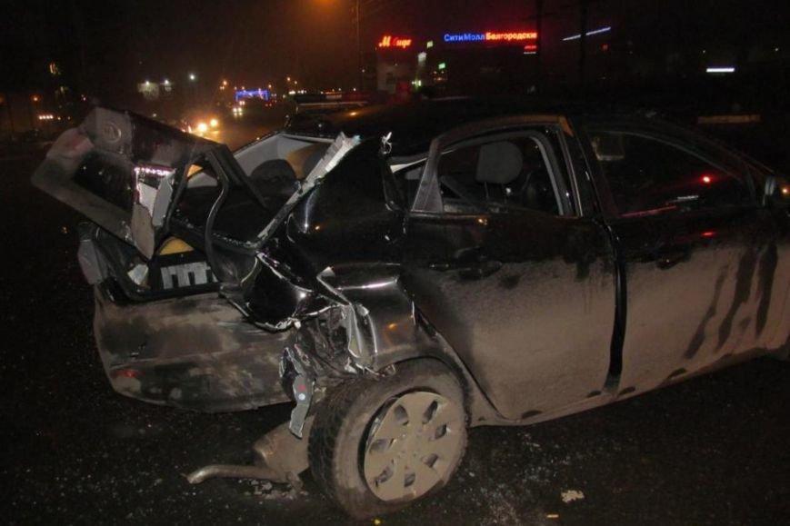 Пожилой водитель «Лады» погиб после столкновения с тягачом в Белгородской области (фото) - фото 1