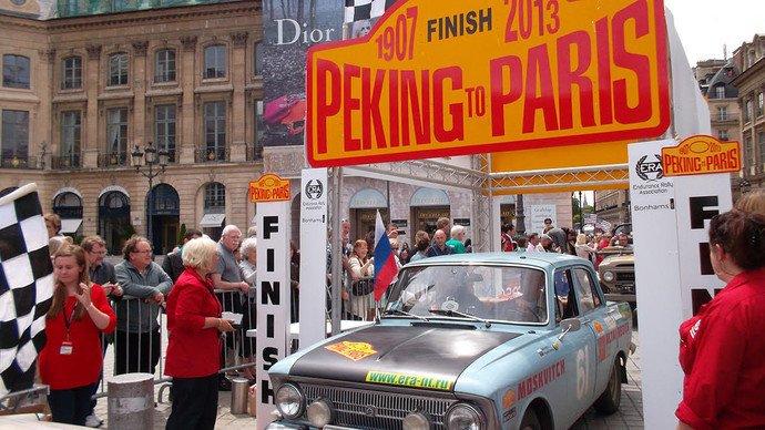 Более сотни классических автомобилей остановятся в Полоцке в рамках ретро-ралли «Пекин — Париж — 2016» (фото) - фото 1