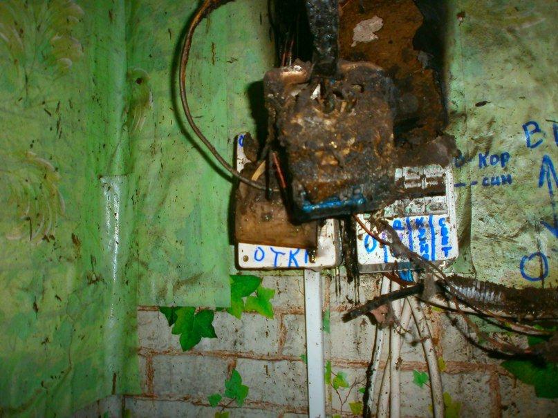 В Днепродзержинске из-за электросчетчика тушили пожар по улице Советской (фото) - фото 2