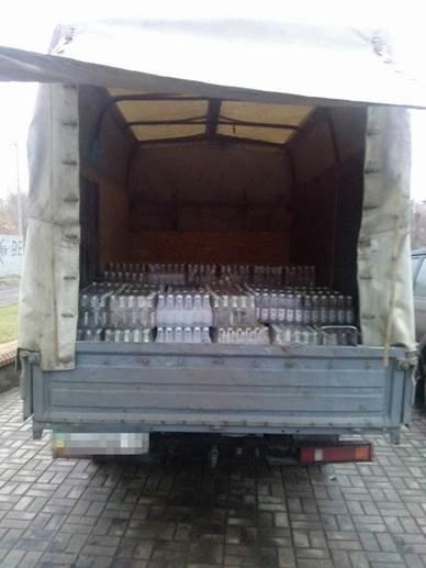 В Артемовске-Бахмуте СБУ задержала незаконную перевозку алкоголя (фото) - фото 1