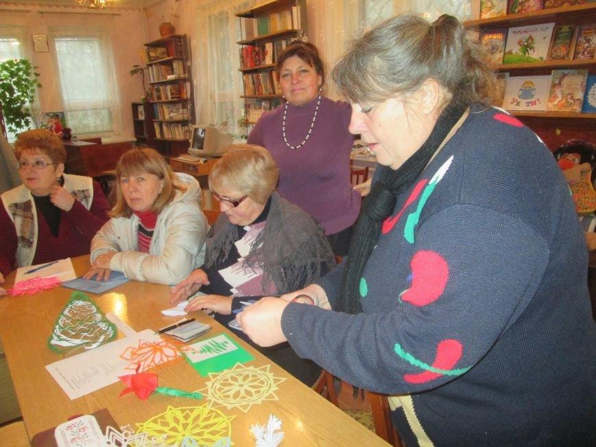 В днепродзержинских библиотеках работают мастерские Деда Мороза, фото-2